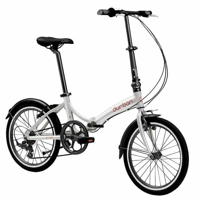 Bicicleta Durban Bike Rio Aro 20 Rígida 7 Marchas - Prata